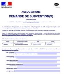 demande subvention assos