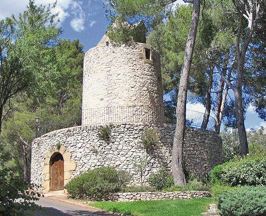 moulin cezanne