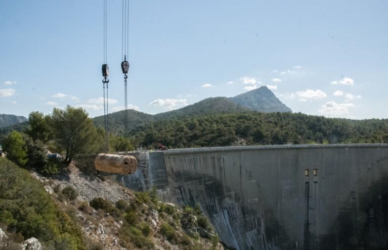 grande rénovation du barrage Bimont
