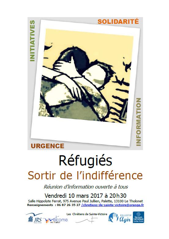 affiche réfugiés