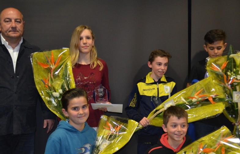 ça s'est passé / remise des trophées aux jeunes sportifs
