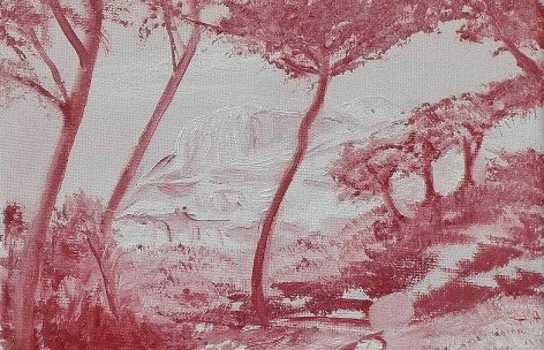 moulin cézanne / Monique Delteil et Alain Descroix (28.07 > 10.08) / Gisèle Alfieri (12 > 20.08)