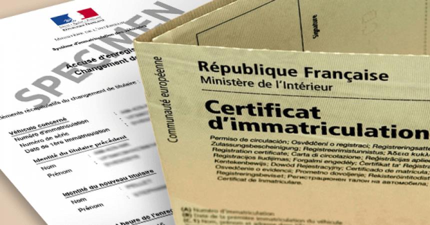 carte grise et permis de conduire / demande en ligne