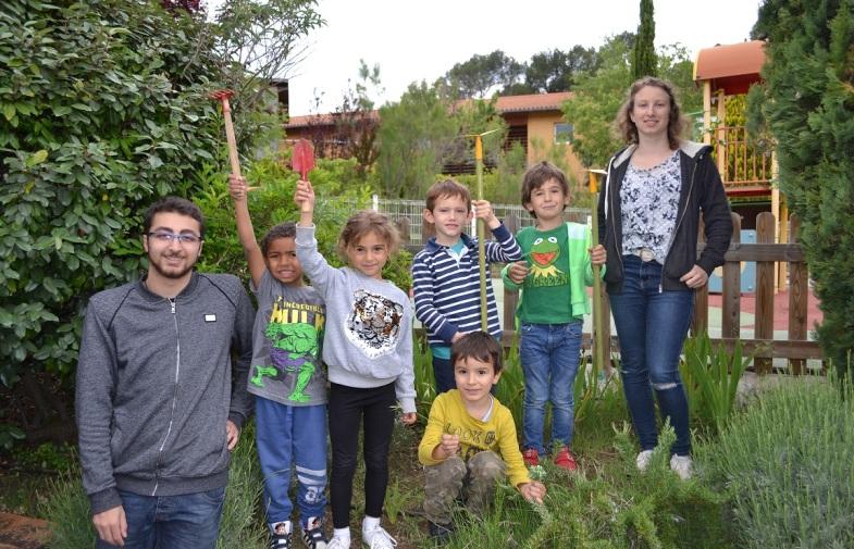 jardinage à la maternelle