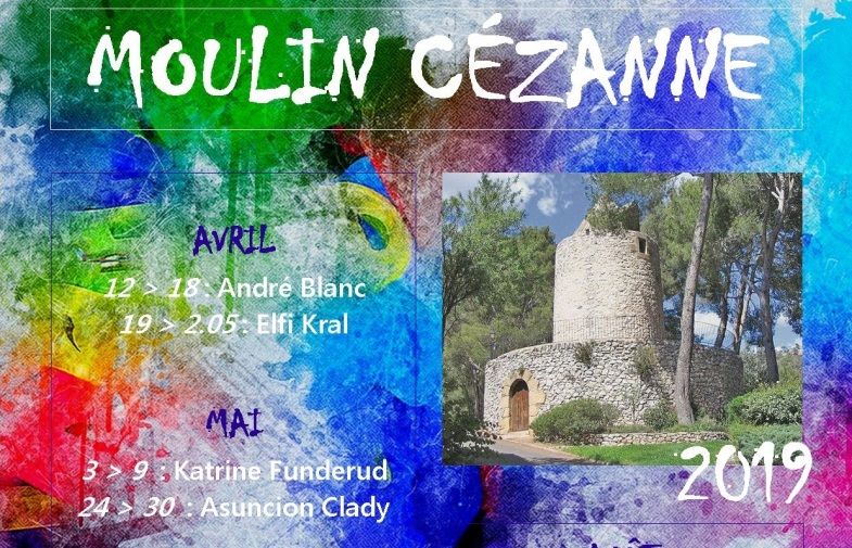expos au Moulin Cézanne / 12 avril > 3 octobre