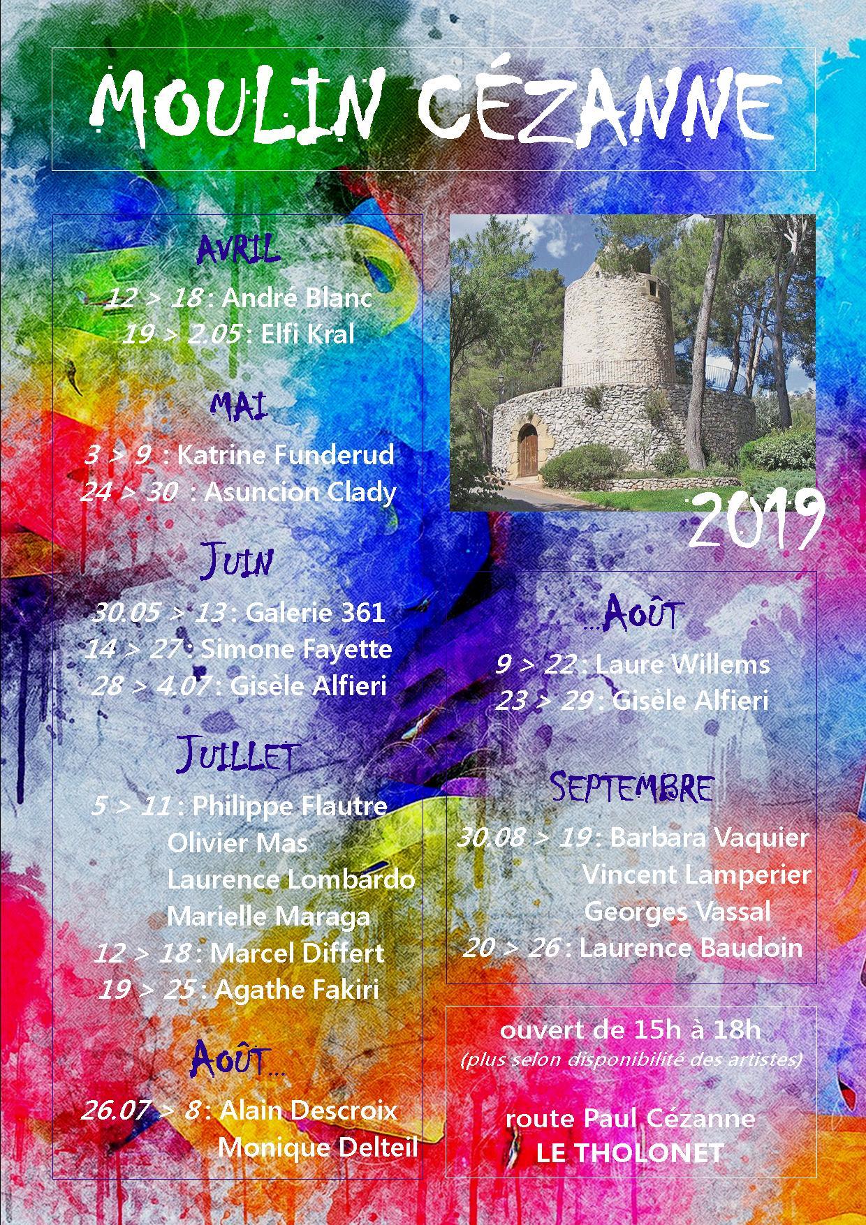 AFFICHE MOULIN 2019