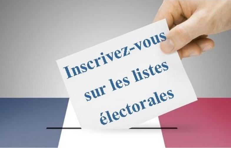 élections municipales / inscriptions
