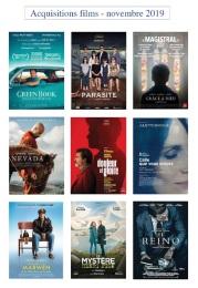 acquisitions films nov 2019