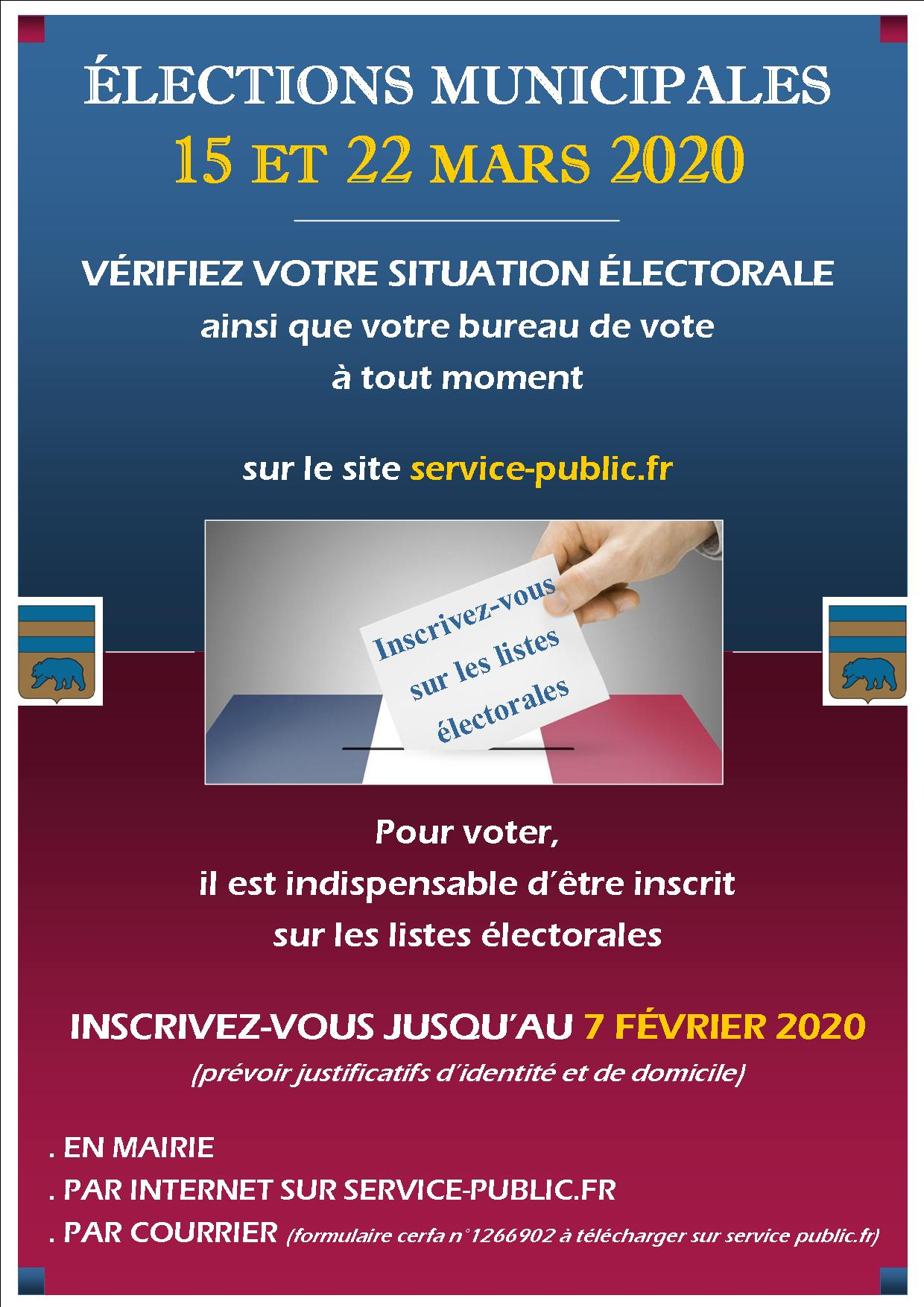 affiche elections