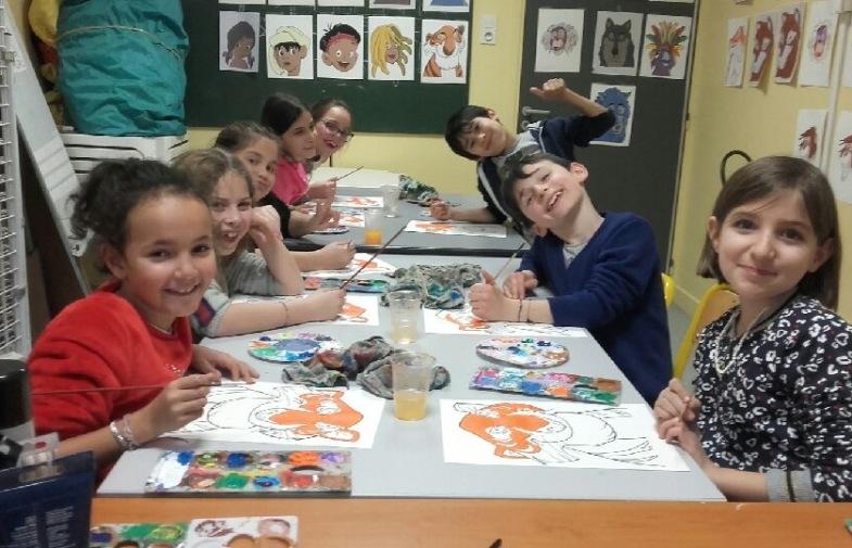 école / périscolaire / arts plastiques