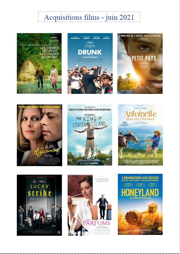 nouveautés films juin 2021
