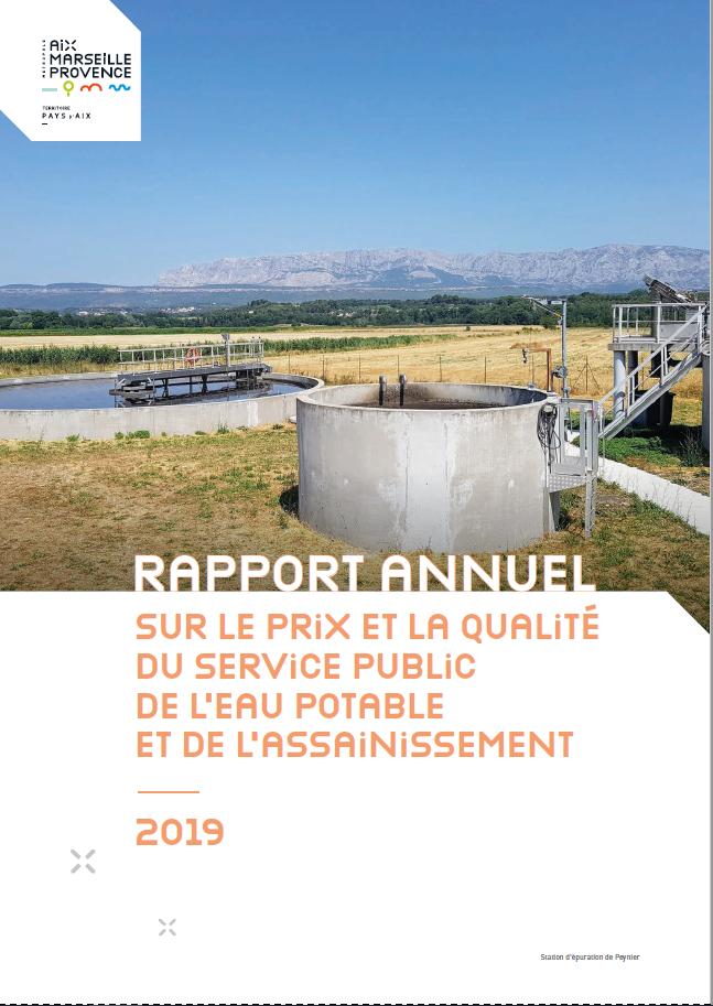 rapport annuel eau